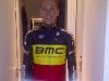 Philippe Gilbert e la sua maglia di campione del Belgio
