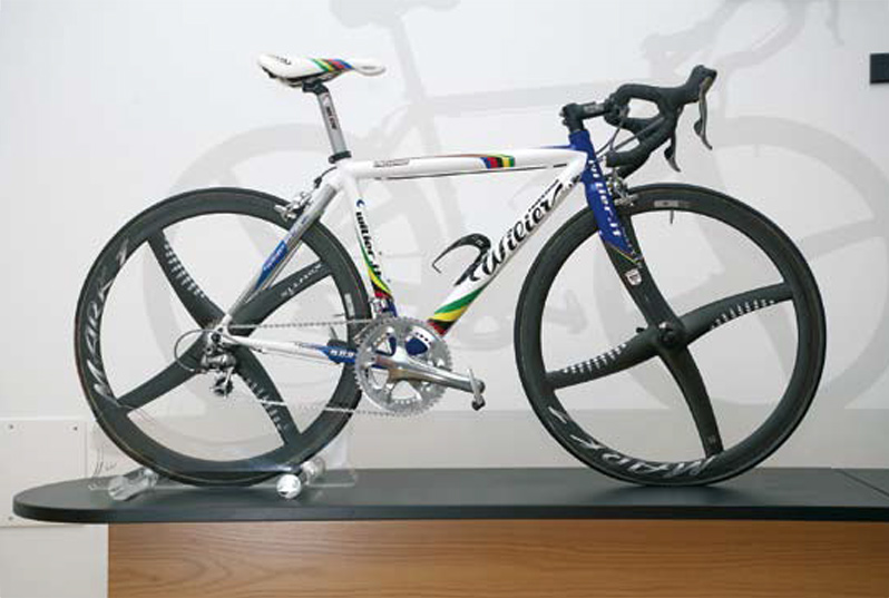 Astarloa At Wilier In Remembrance Of Pantani